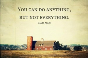So, if we cannot do everything, we must work with each other to achieve.
