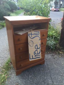 Free Solid Wood Bureau, Anyone?