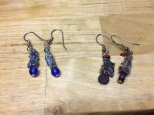 Bismuth, in earrings